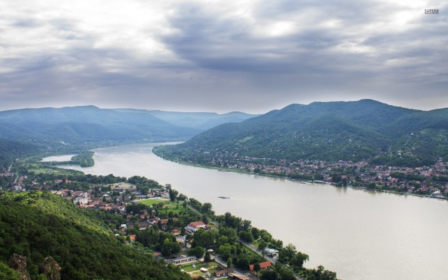 Danube Bend Hungary Europe wallpapers and stock photos