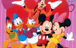 Mickey & Friends wallpapers and stock photos