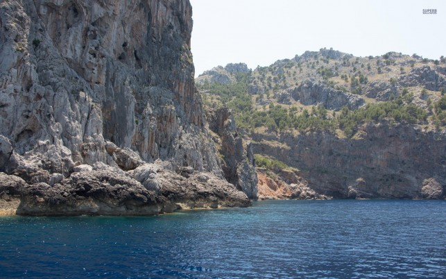 Northern Coast Mallorca Spain wallpapers and stock photos
