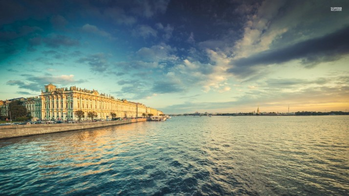 River Neva Saint Petersburg wallpapers and stock photos