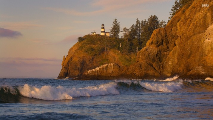 Cape Disappointment Light wallpapers and stock photos