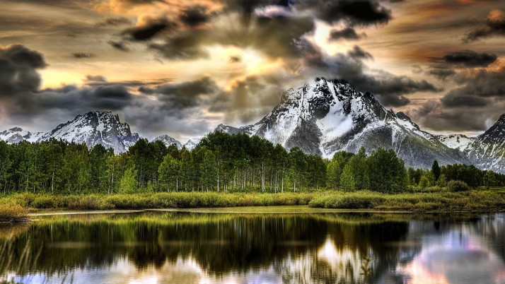 Glorious Grand Teton Wyoming wallpapers and stock photos