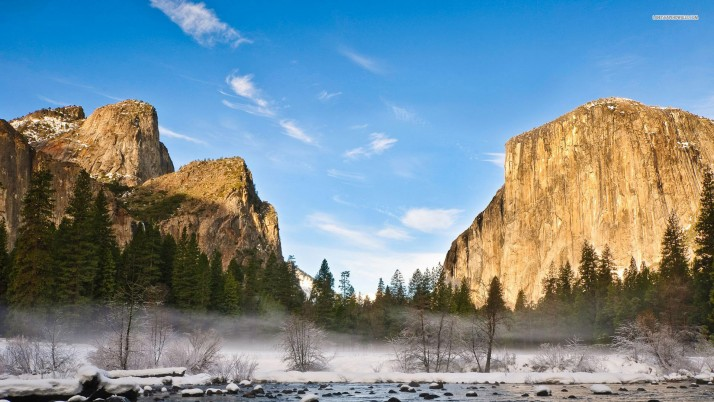 Golden Rocks Noble Yosemite wallpapers and stock photos