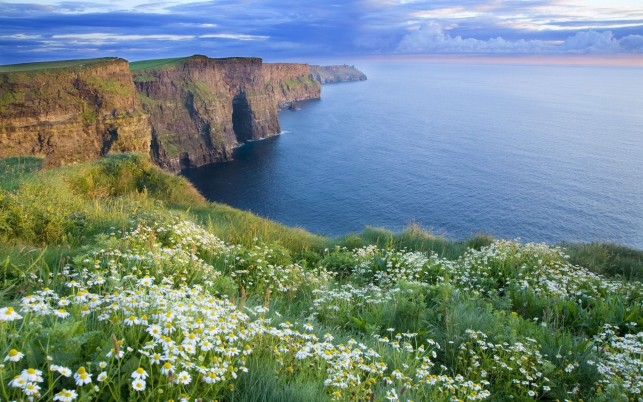 Amazing Cliffs Of Moher wallpapers and stock photos