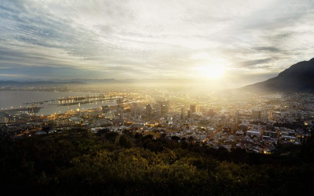 Cape Town South Africa Two wallpapers and stock photos