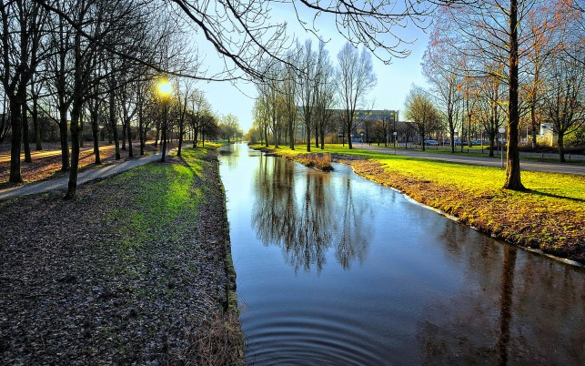 Relaxing Amsterdam Netherlands wallpapers and stock photos