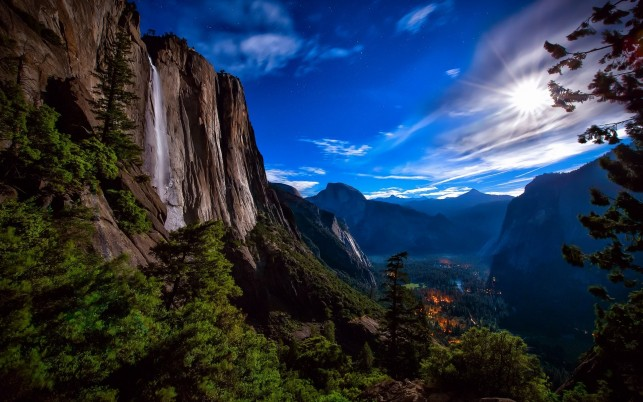 Beautiful Lookout Yosemite wallpapers and stock photos