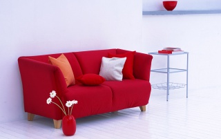 Red Sofa wallpapers and stock photos