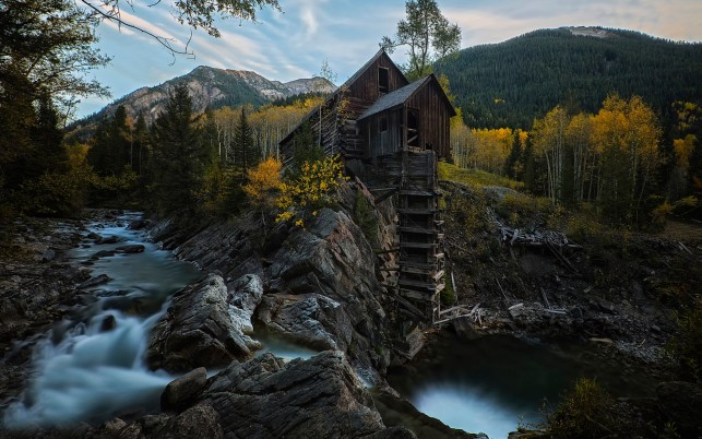 Random: History Crystal Mill Colorado