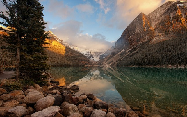 Charming Alberta Banff Canada wallpapers and stock photos