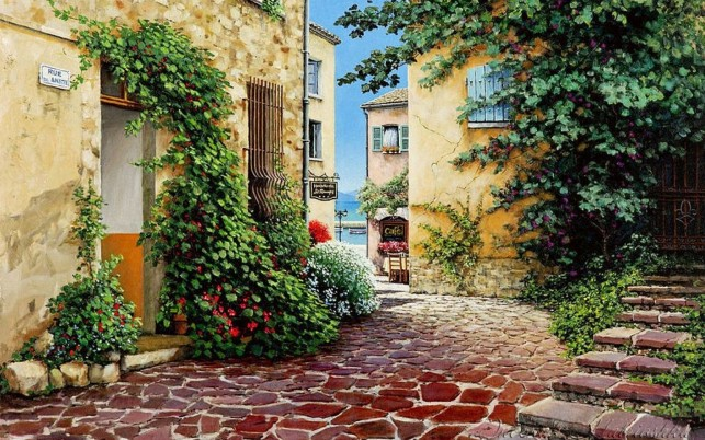 Rue Anette France wallpapers and stock photos