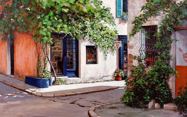 Antiques Shops Provence France wallpapers and stock photos