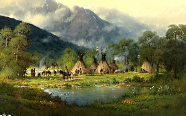 Random: Peaks Forest Indian Tribe Pond