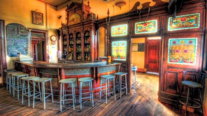 Old Tuscan Bar wallpapers and stock photos