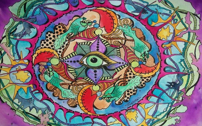 Random: The Eye Knows All Psychedelic