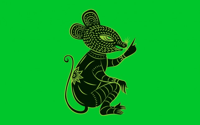 Chinese Zodiac Rat wallpapers and stock photos