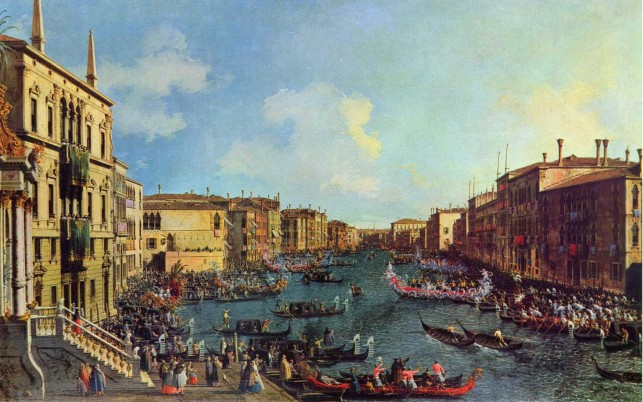 Regatta Grand Canal Drei wallpapers and stock photos