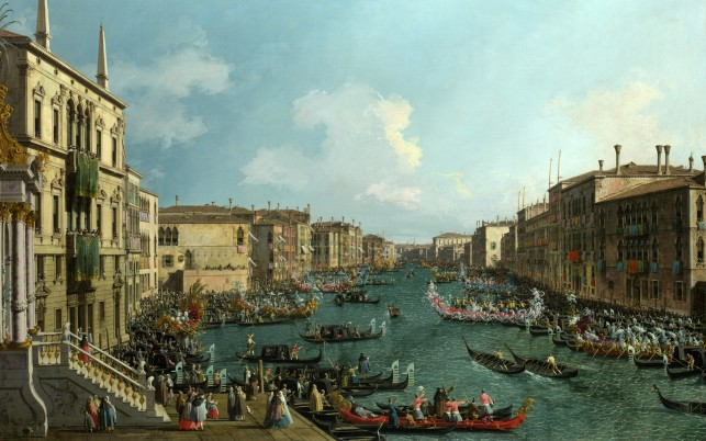 Regatta Grand Canal One wallpapers and stock photos