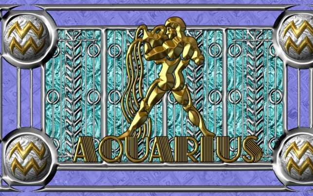 Aquarius Gold Edition wallpapers and stock photos