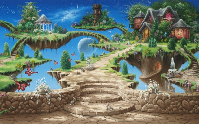 Random: Dream Island Fantasy World