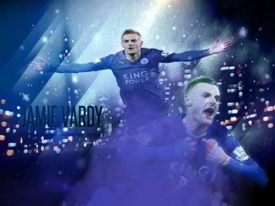 Jamie Vardy wallpapers and stock photos