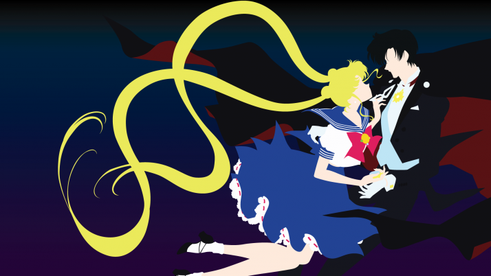 Sailor Moon Crystal Four wallpapers and stock photos