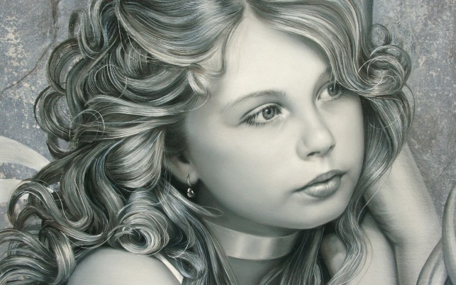 Next: Pretty Girl Curls Portrait