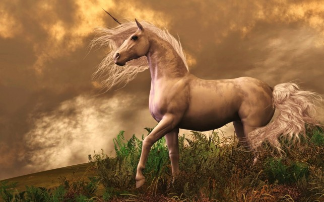 The Golden Unicorn wallpapers and stock photos