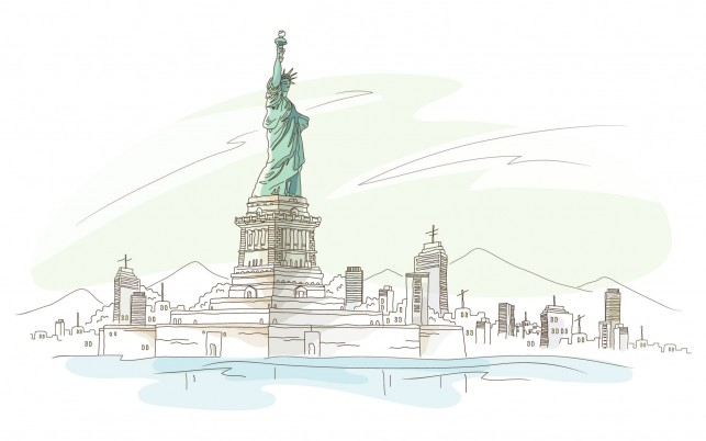 The Statue Of Liberty wallpapers and stock photos