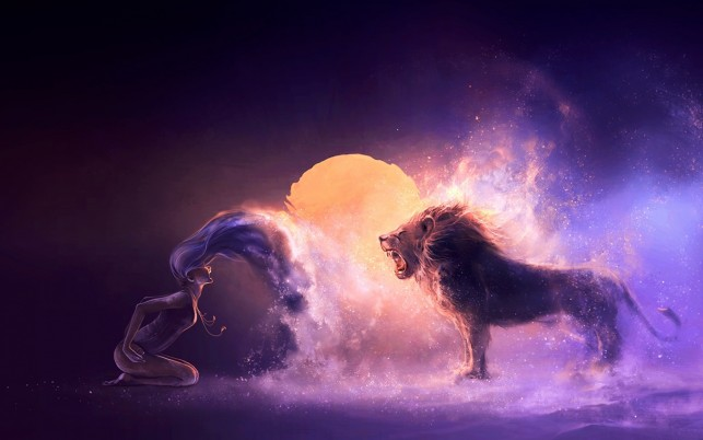 Dancing Zodiac Leo wallpapers and stock photos