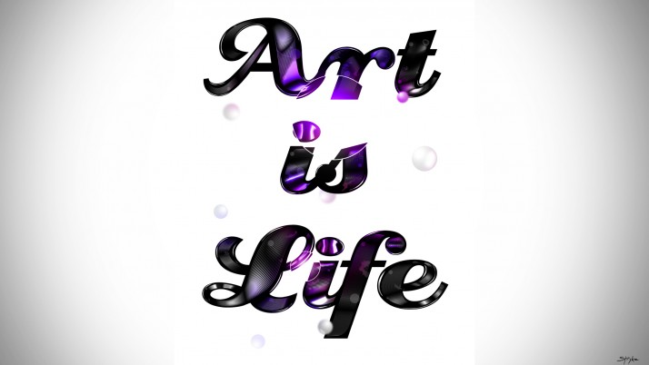 Art Is Life wallpapers and stock photos
