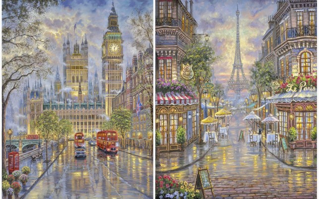 Random: London & Paris