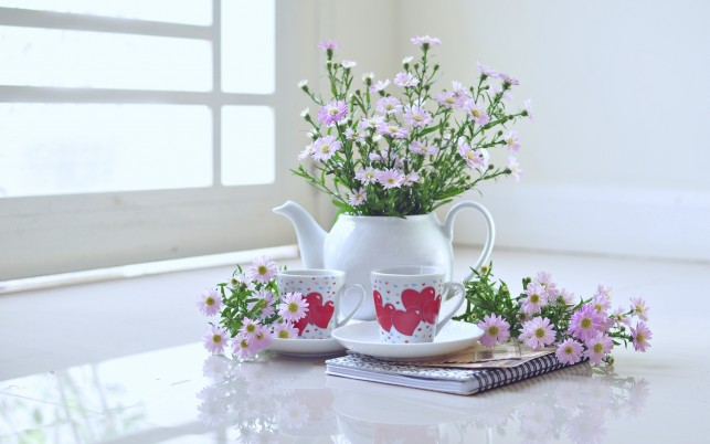 Tea For Two wallpapers and stock photos