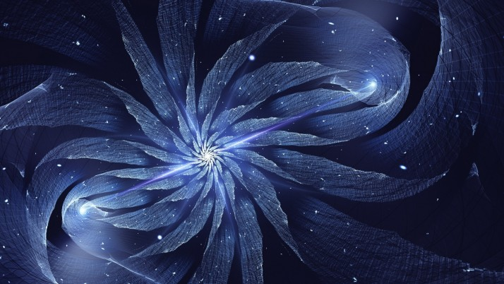Winter Star Fractal wallpapers and stock photos