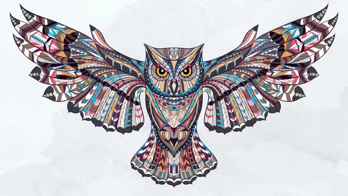 Abstract Owl wallpapers and stock photos