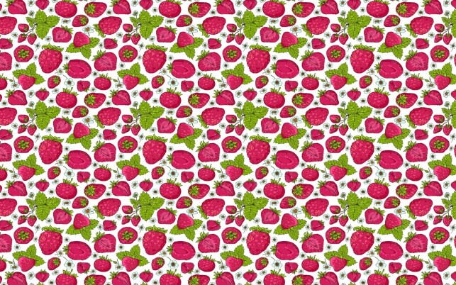 Strawberry Pattern wallpapers and stock photos