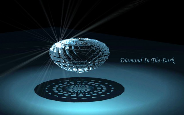 Diamond In The Dark wallpapers and stock photos