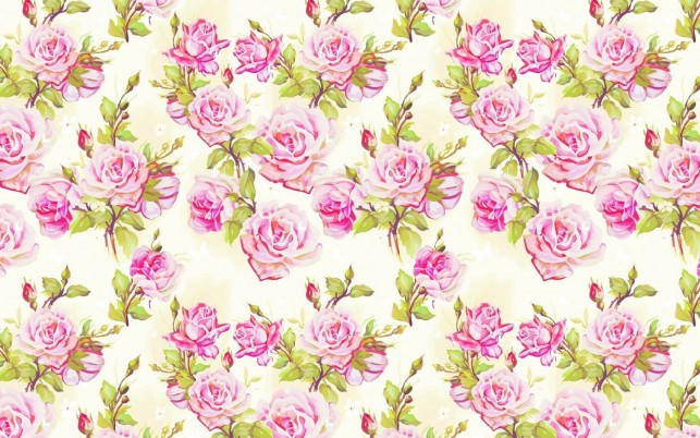 Light Pink Roses Pattern wallpapers and stock photos