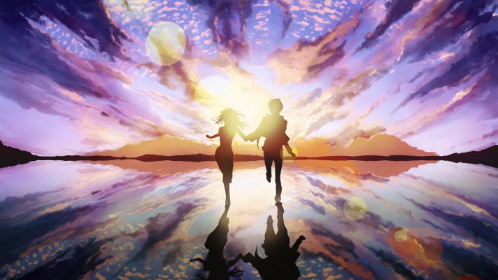 Sunset Lovers wallpapers and stock photos