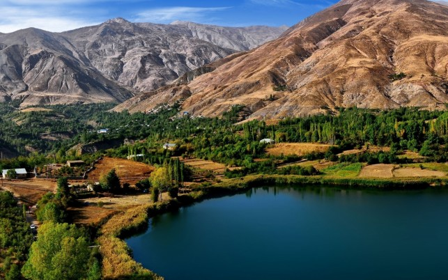 Pretty Valley Evan Lake Iran wallpapers and stock photos