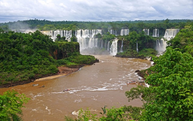 Awesome Iguazu Falls Brazil wallpapers and stock photos
