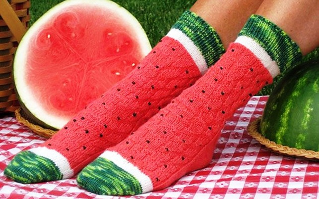 Water Melon Socks wallpapers and stock photos