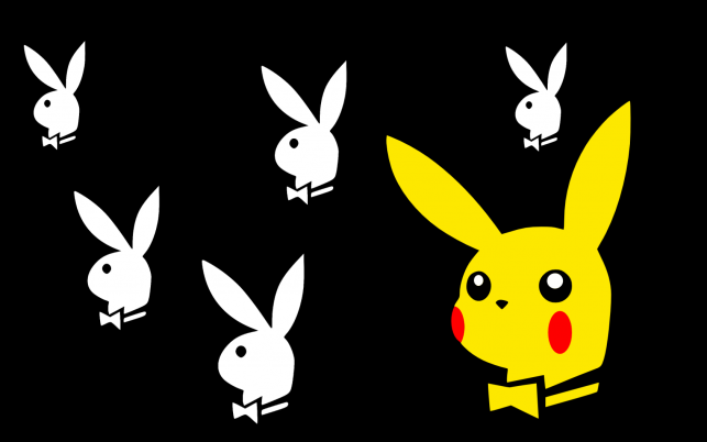 Pikachu Playboy wallpapers and stock photos