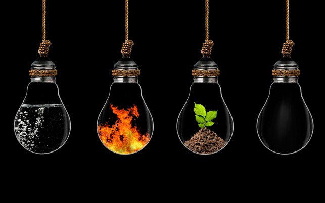 The Elements Light Bulbs wallpapers and stock photos