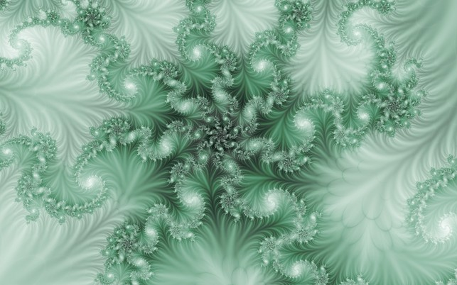 Green Frond wallpapers and stock photos
