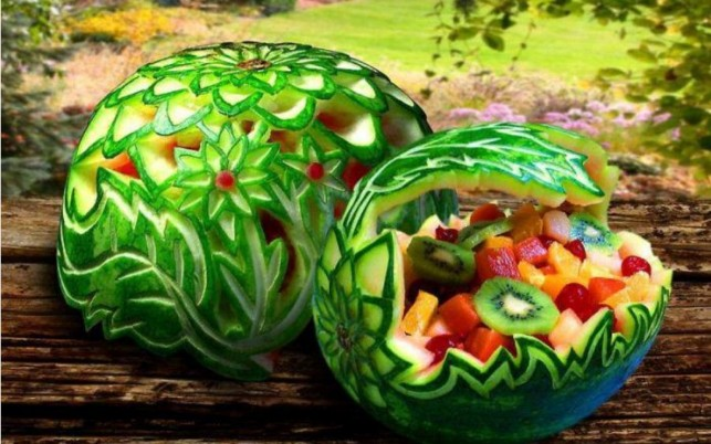 Creative Water Melons wallpapers and stock photos