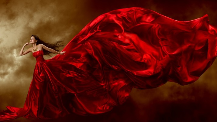 Lady In Red wallpapers and stock photos