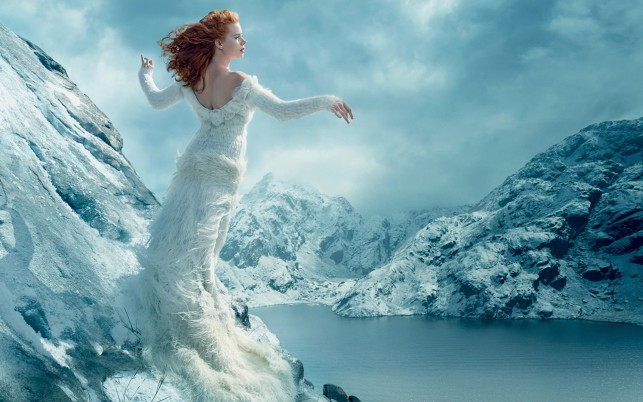 Winter Goddess wallpapers and stock photos