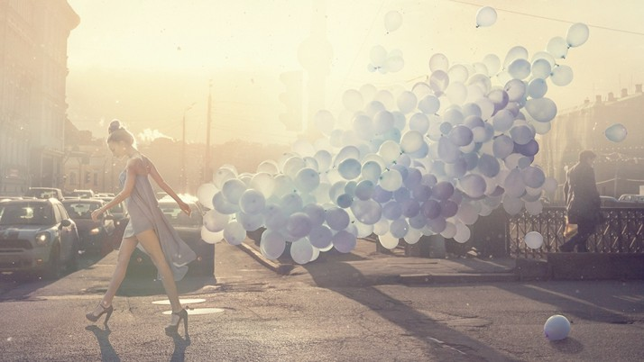 Blue Balloons wallpapers and stock photos