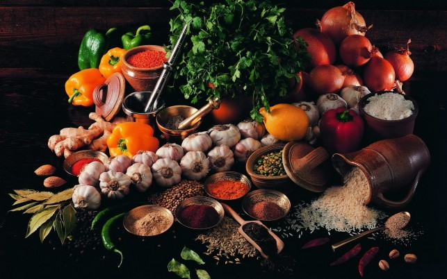 Vegetables & Spices wallpapers and stock photos